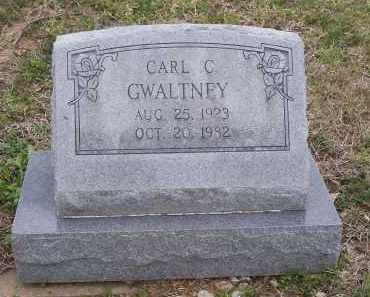 GWALTNEY, CARL C. - Lawrence County, Arkansas | CARL C. GWALTNEY - Arkansas Gravestone Photos
