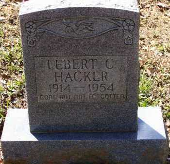 HACKER, LEBERT CARL - Lawrence County, Arkansas | LEBERT CARL HACKER - Arkansas Gravestone Photos