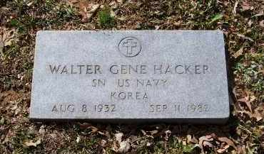 HACKER (VETERAN KOR), WALTER GENE - Lawrence County, Arkansas | WALTER GENE HACKER (VETERAN KOR) - Arkansas Gravestone Photos