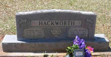 "HACKWORTH, LEHMAN JEWELL ""HACK"" - Lawrence County, Arkansas 