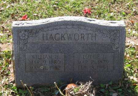 HACKWORTH, WILLIAM HENRY - Lawrence County, Arkansas | WILLIAM HENRY HACKWORTH - Arkansas Gravestone Photos