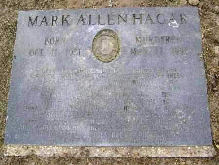 HAGAR, MARK ALLEN - Lawrence County, Arkansas | MARK ALLEN HAGAR - Arkansas Gravestone Photos