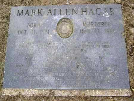HAGAR, MARK ALLEN - Lawrence County, Arkansas | MARK ALLEN HAGAR - Arkansas Gravestone Photos