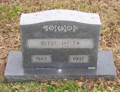 HAGER, BETTY - Lawrence County, Arkansas | BETTY HAGER - Arkansas Gravestone Photos