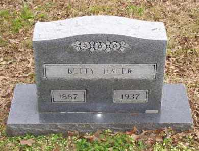 HORN HAGER, BETTY - Lawrence County, Arkansas | BETTY HORN HAGER - Arkansas Gravestone Photos