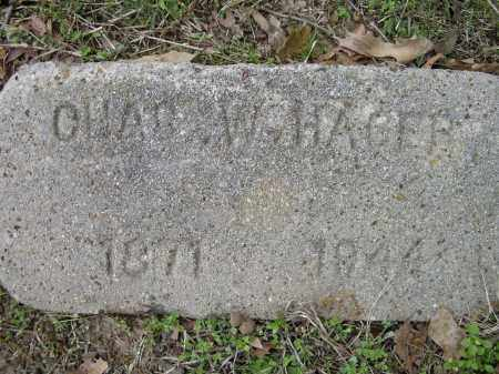 HAGER, CHARLES W. - Lawrence County, Arkansas | CHARLES W. HAGER - Arkansas Gravestone Photos