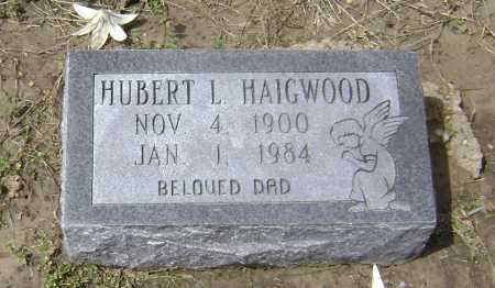 HAIGWOOD, HUBERT L. - Lawrence County, Arkansas | HUBERT L. HAIGWOOD - Arkansas Gravestone Photos