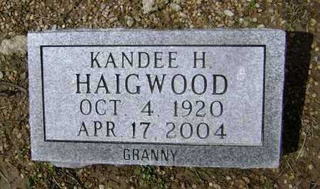 EAST HAIGWOOD, KANDEE HELEN - Lawrence County, Arkansas | KANDEE HELEN EAST HAIGWOOD - Arkansas Gravestone Photos