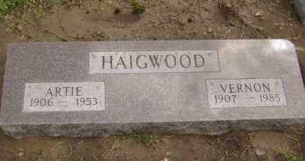 HAIGWOOD, VERNON GLOVER - Lawrence County, Arkansas | VERNON GLOVER HAIGWOOD - Arkansas Gravestone Photos