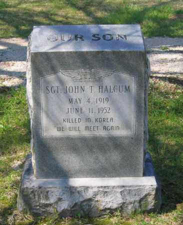 HALCUM (VETERAN KOR), JOHN THOMAS - Lawrence County, Arkansas | JOHN THOMAS HALCUM (VETERAN KOR) - Arkansas Gravestone Photos