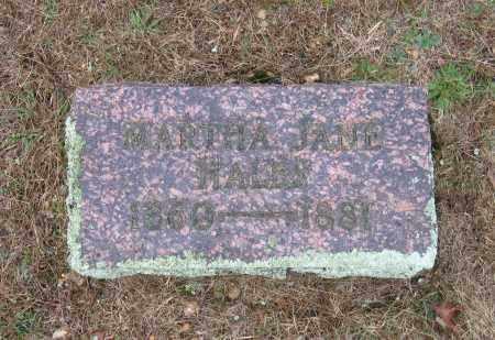 HALES, MARTHA JANE - Lawrence County, Arkansas | MARTHA JANE HALES - Arkansas Gravestone Photos