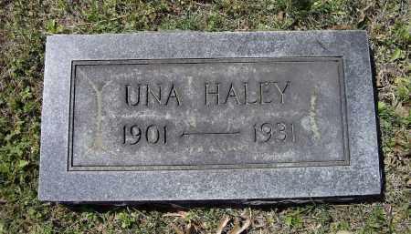 HALEY, UNA - Lawrence County, Arkansas | UNA HALEY - Arkansas Gravestone Photos