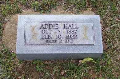 HALL, ADDIE - Lawrence County, Arkansas | ADDIE HALL - Arkansas Gravestone Photos