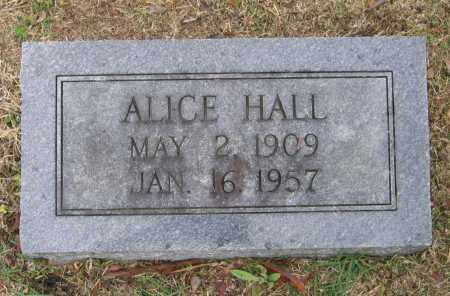 HALL, ALICE - Lawrence County, Arkansas | ALICE HALL - Arkansas Gravestone Photos
