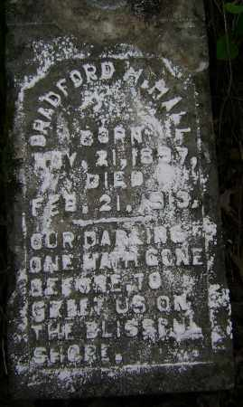 HALL, BRADFORD H. - Lawrence County, Arkansas | BRADFORD H. HALL - Arkansas Gravestone Photos