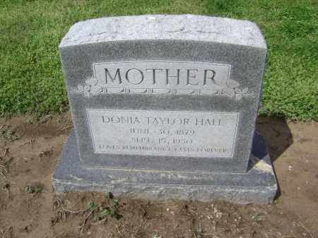TAYLOR HALL, DONIA - Lawrence County, Arkansas | DONIA TAYLOR HALL - Arkansas Gravestone Photos