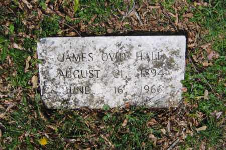 HALL, JAMES OVID - Lawrence County, Arkansas | JAMES OVID HALL - Arkansas Gravestone Photos