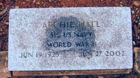 HALL (VETERAN WWII), LOWELL ARCHIE - Lawrence County, Arkansas | LOWELL ARCHIE HALL (VETERAN WWII) - Arkansas Gravestone Photos