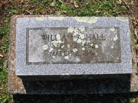 HALL, WILLIAM A. - Lawrence County, Arkansas | WILLIAM A. HALL - Arkansas Gravestone Photos