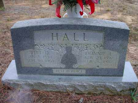 HALL, DONNIE EDNA - Lawrence County, Arkansas | DONNIE EDNA HALL - Arkansas Gravestone Photos