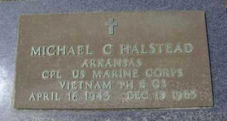 HALSTEAD  (VETERAN VIET, KIA), MICHAEL C. - Lawrence County, Arkansas | MICHAEL C. HALSTEAD  (VETERAN VIET, KIA) - Arkansas Gravestone Photos