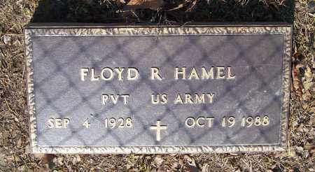 HAMEL (VETERAN), FLOYD RUSSELL - Lawrence County, Arkansas | FLOYD RUSSELL HAMEL (VETERAN) - Arkansas Gravestone Photos