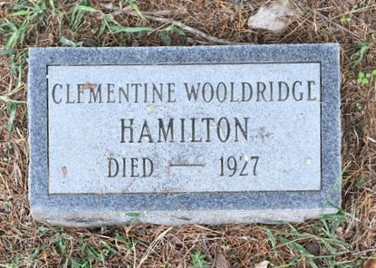 HAMILTON, CLEMENTINE - Lawrence County, Arkansas | CLEMENTINE HAMILTON - Arkansas Gravestone Photos