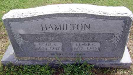 HAMILTON, ELMER C. - Lawrence County, Arkansas | ELMER C. HAMILTON - Arkansas Gravestone Photos