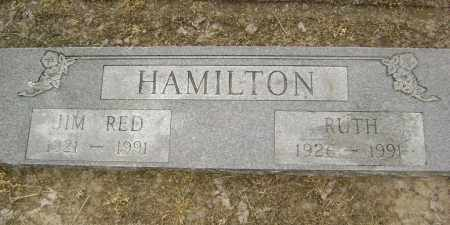 "HAMILTON, JIM ""RED"" - Lawrence County, Arkansas 