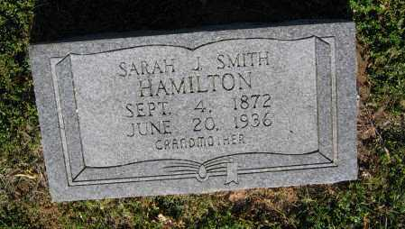 SMITH HAMILTON, SARAH J. - Lawrence County, Arkansas | SARAH J. SMITH HAMILTON - Arkansas Gravestone Photos