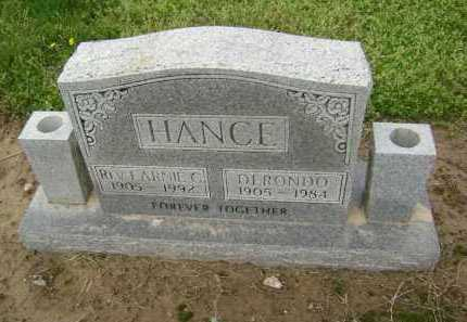 HANCE, DERONDO - Lawrence County, Arkansas | DERONDO HANCE - Arkansas Gravestone Photos