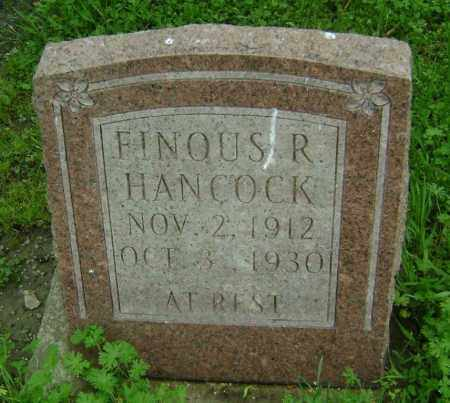 HANCOCK, FINOUS R. - Lawrence County, Arkansas | FINOUS R. HANCOCK - Arkansas Gravestone Photos