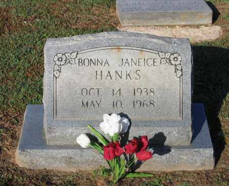 HANKS, BONNA JANEICE - Lawrence County, Arkansas | BONNA JANEICE HANKS - Arkansas Gravestone Photos