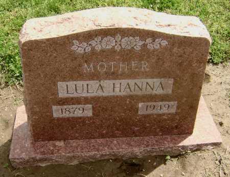 HANNA, LULA - Lawrence County, Arkansas | LULA HANNA - Arkansas Gravestone Photos