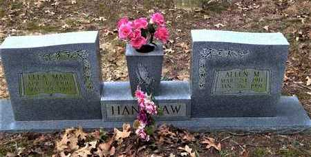HANSHAW, ALLEN M. - Lawrence County, Arkansas | ALLEN M. HANSHAW - Arkansas Gravestone Photos