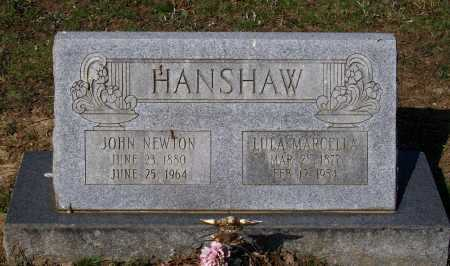 HANSHAW, JOHN NEWTON - Lawrence County, Arkansas | JOHN NEWTON HANSHAW - Arkansas Gravestone Photos