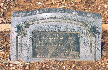 HANSHAW, MAUDE L. - Lawrence County, Arkansas | MAUDE L. HANSHAW - Arkansas Gravestone Photos