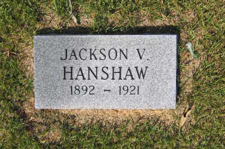 HANSHAW, JACKSON VIRGIL - Lawrence County, Arkansas | JACKSON VIRGIL HANSHAW - Arkansas Gravestone Photos
