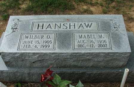 MCLAUGHLIN HANSHAW, MABEL LUCILLE - Lawrence County, Arkansas | MABEL LUCILLE MCLAUGHLIN HANSHAW - Arkansas Gravestone Photos
