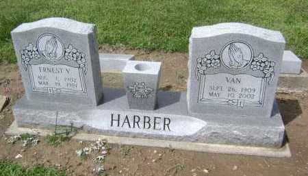 HARBER, ERNEST V. - Lawrence County, Arkansas | ERNEST V. HARBER - Arkansas Gravestone Photos