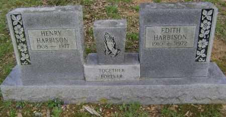HARBISON, EDITH - Lawrence County, Arkansas | EDITH HARBISON - Arkansas Gravestone Photos