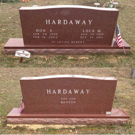 "HARDAWAY, DONALD EUGENE ""DON E."" - Lawrence County, Arkansas 