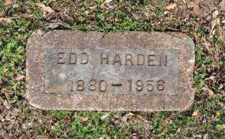 HARDEN, EDD - Lawrence County, Arkansas | EDD HARDEN - Arkansas Gravestone Photos