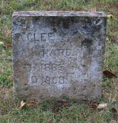 "HARDIN, CLUNITHRA ""CLEE"" - Lawrence County, Arkansas 