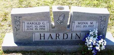 HARDIN, SR., HAROLD GLENN - Lawrence County, Arkansas | HAROLD GLENN HARDIN, SR. - Arkansas Gravestone Photos