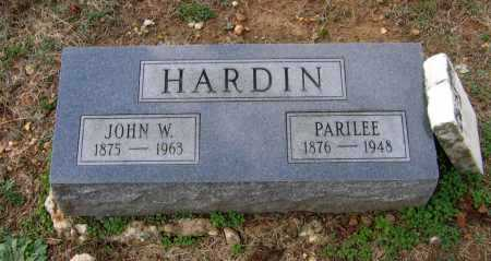 HARDIN, LUCINDA PARILEE - Lawrence County, Arkansas | LUCINDA PARILEE HARDIN - Arkansas Gravestone Photos