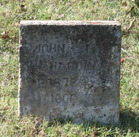 HARDIN, JR., JOHN ELIGA - Lawrence County, Arkansas | JOHN ELIGA HARDIN, JR. - Arkansas Gravestone Photos