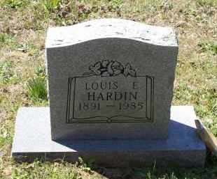HARDIN, LOUIS ELMER - Lawrence County, Arkansas | LOUIS ELMER HARDIN - Arkansas Gravestone Photos