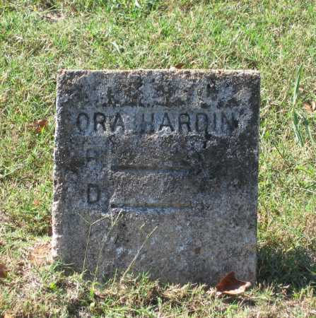 HARDIN, ORA - Lawrence County, Arkansas | ORA HARDIN - Arkansas Gravestone Photos