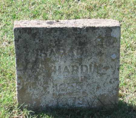 HARDIN, SARAH ANN - Lawrence County, Arkansas | SARAH ANN HARDIN - Arkansas Gravestone Photos